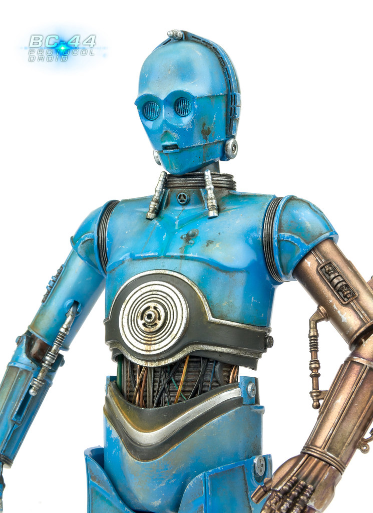 BC44 Protocol Droid  Repaint of Bandais 112 C3P0  Andy Moore  Flickr