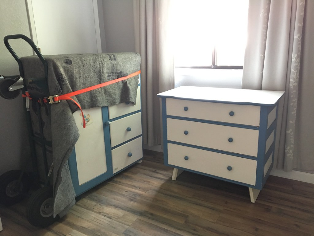 Heirloom furniture for the nursery!