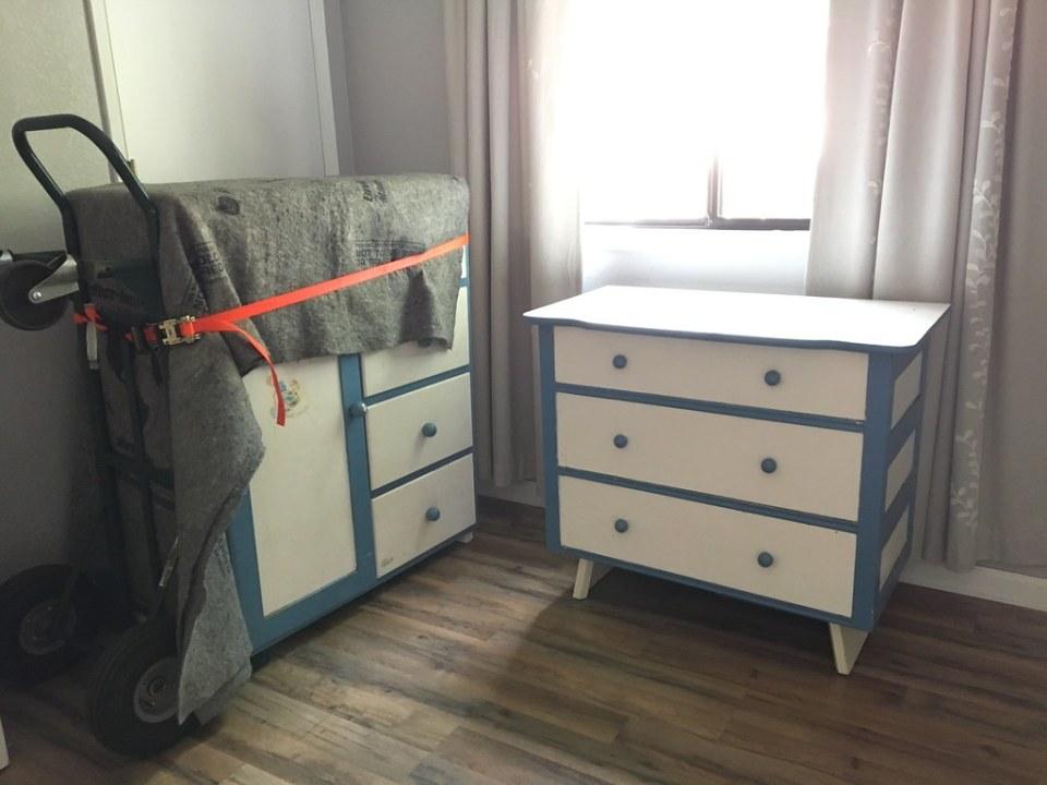 Heirloom furniture for the nursery!