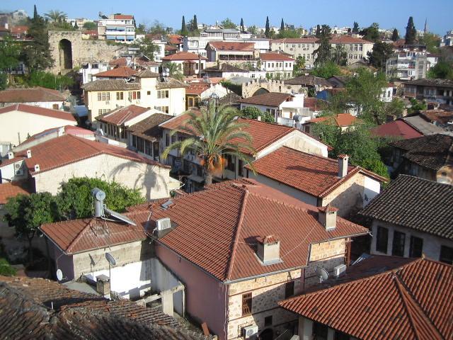 View of the old town Kaleiçi, Antalya