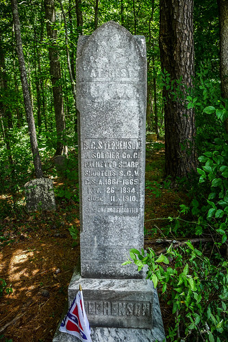 Old Stone Cemetery at Landsford Canal-003