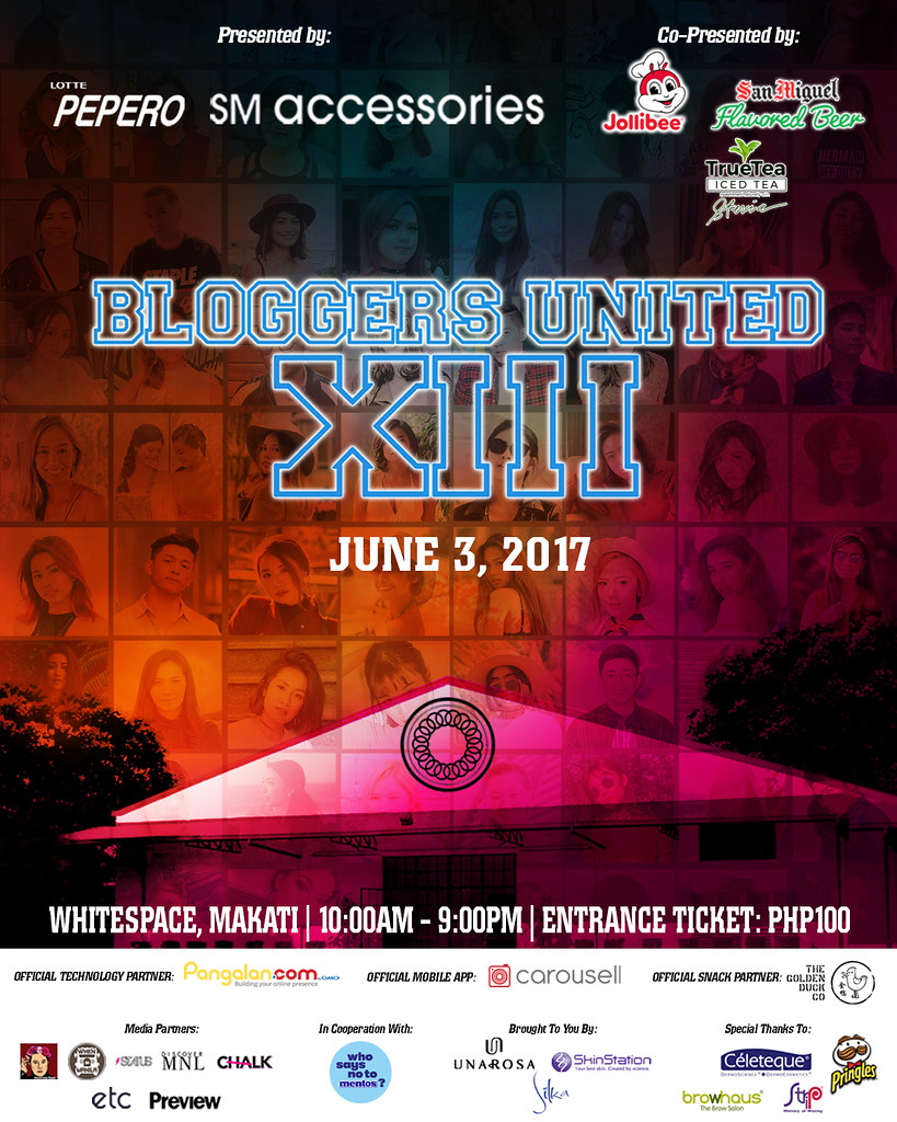 BLOGGERS UNITED POSTER 5in x 4in (OPTION 3)