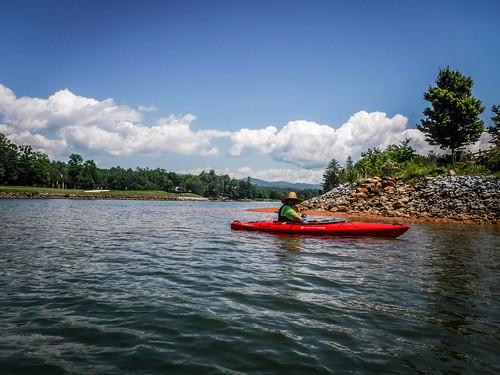 Lake Keowee and Estatoe Creek-83
