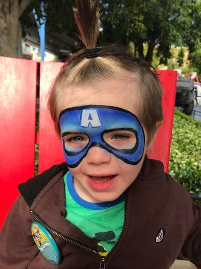 It's Captain America!