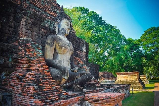 Sukhothai temple, via pixabay