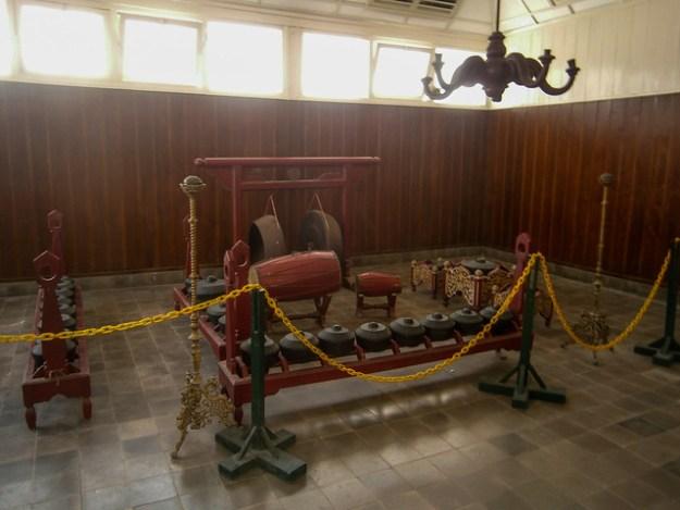 Keraton Palace Museum Drums