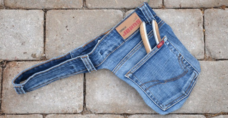 Monthly Makers tyg - verktygsbälte i jeans
