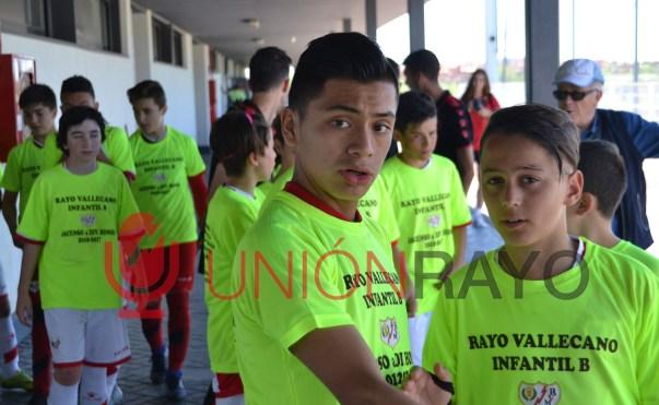 Rayo Infantil B, asciende a Divsión de Honor