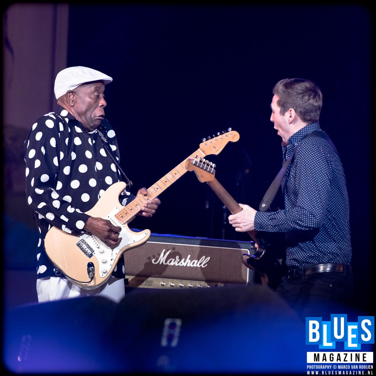 Buddy Guy and Laurence Jones