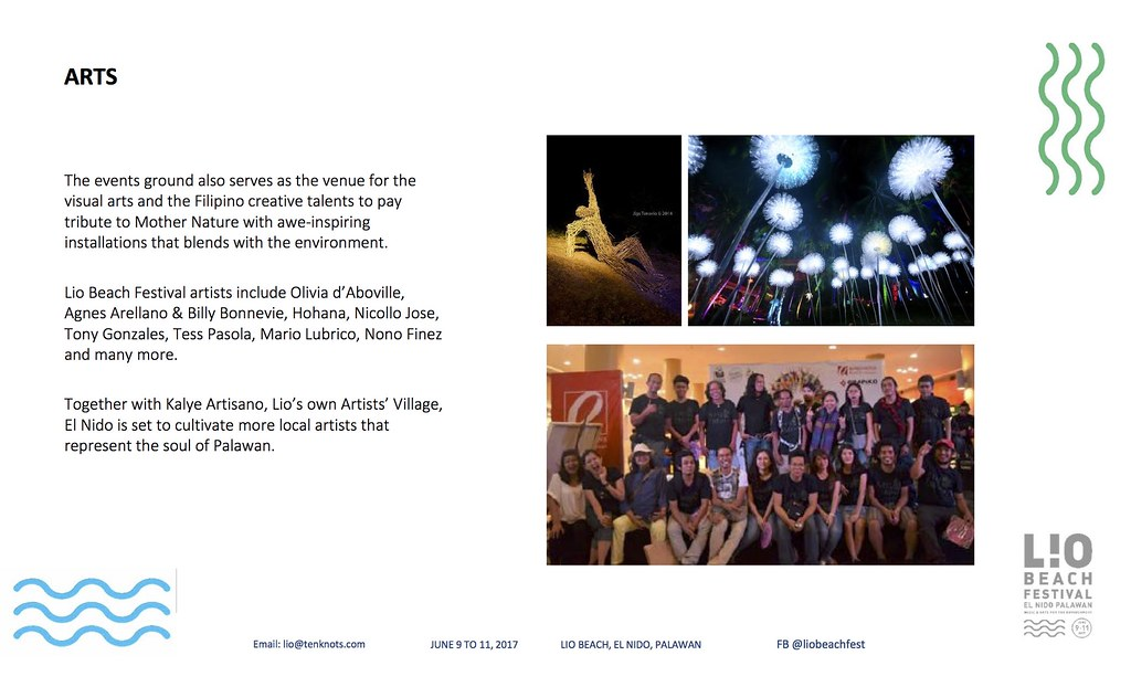 Lio Beach Festival 2017- Arts
