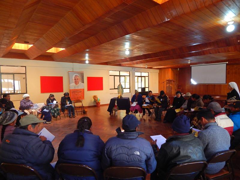 Retiro de animadores cristianos de zona de Melgar (Prelatura de Ayaviri, junio de 2017)