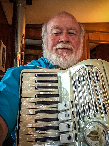 Tom with Accordian