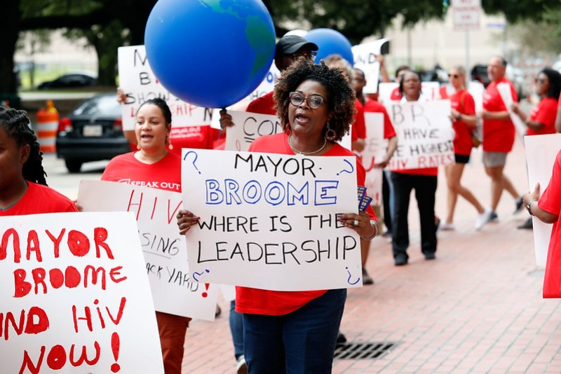 Baton Rouge Clinic Defunding Protest (6/26/17)