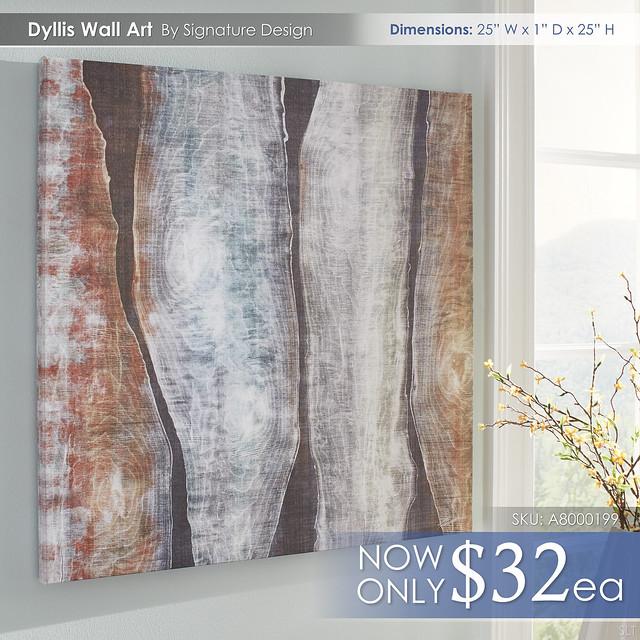 Dyllis Wall Art A8000199