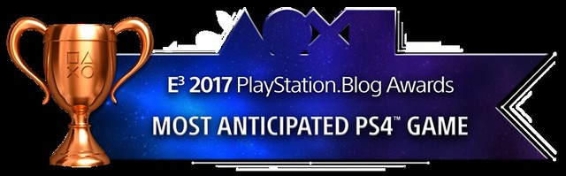 Most Anticipated PS4 Game - Bronze