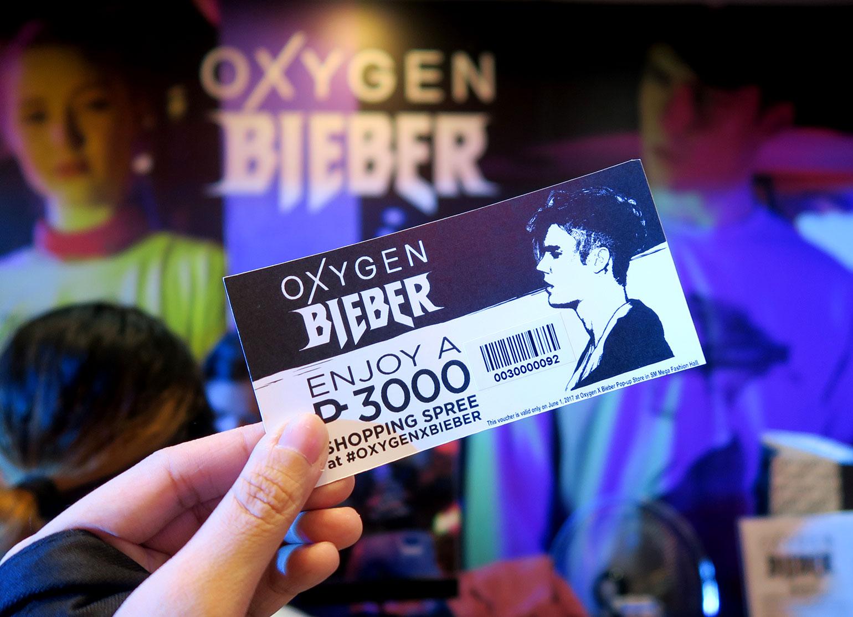 14 OxygenXBieber Collection Launch - She Sings Beauty by Gen-zel