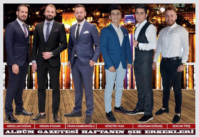 Abdullah Doğan, Orhan Atahan, Cihan Kamburoğlu, Hüseyin Yasa, Oğuzhan Doğanç, Sercan Tiriş