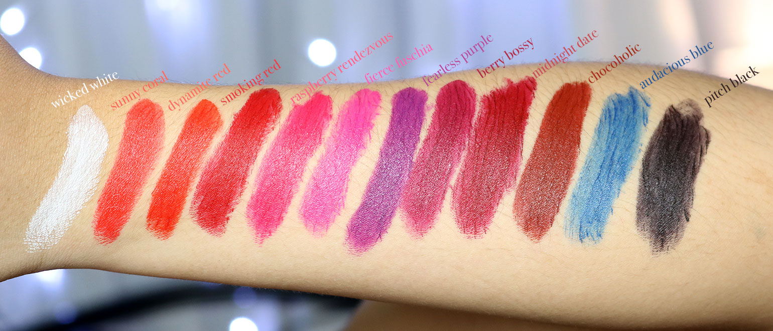 28 Maybelline Loaded Bolds Mattes Review Swatches Photos - She Sings Beauty by Gen-zel