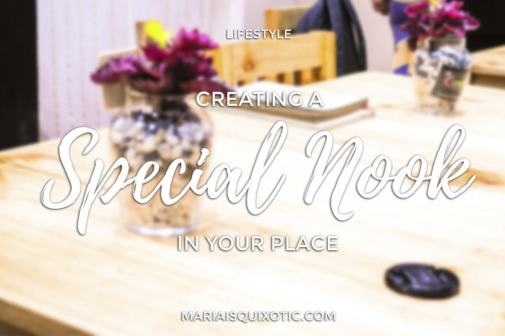 Creating A Special Nook