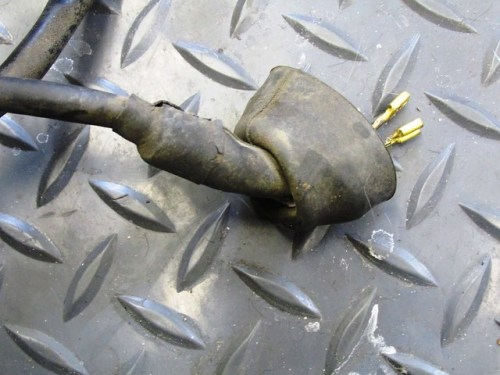 Old Turn Signal Rubber Boot