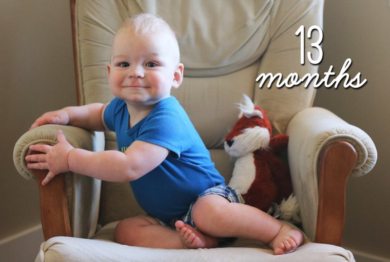 Jonathan is 13 Months Old!