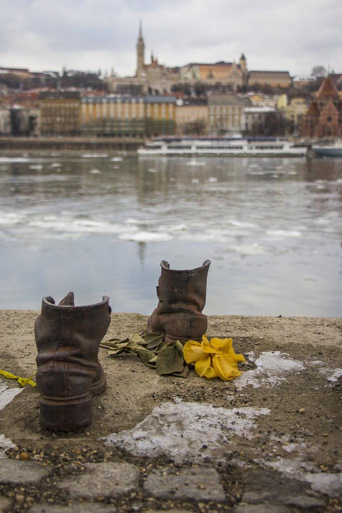 Shoes on the Donau