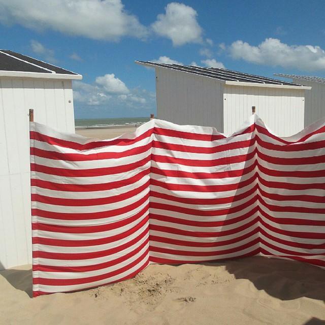 DIY- zelf een strandzeil naaien