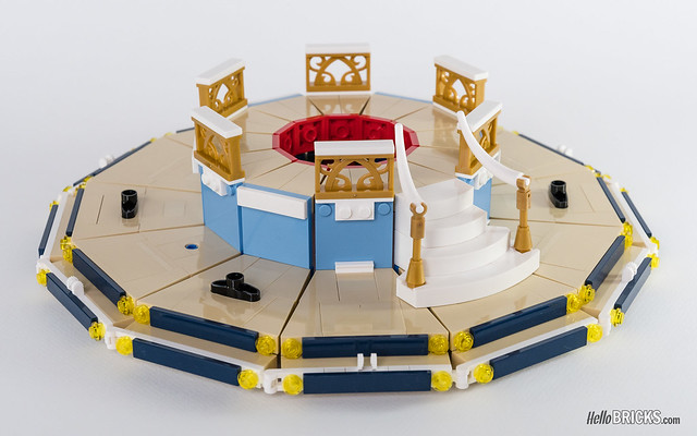 Review LEGO 10257 Carousel Creator Expert (Le Manège)