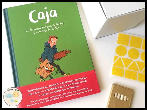 Libro Caja. La fabulosa historia de Mateo y su amigo de cartón. Reseña