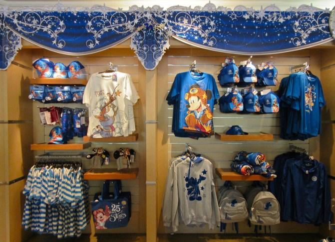 Disneyland Paris 25th anniversary merchandise