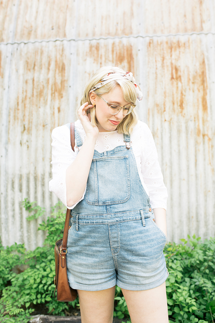 austin style blogger writes like a girl overalls clogs14