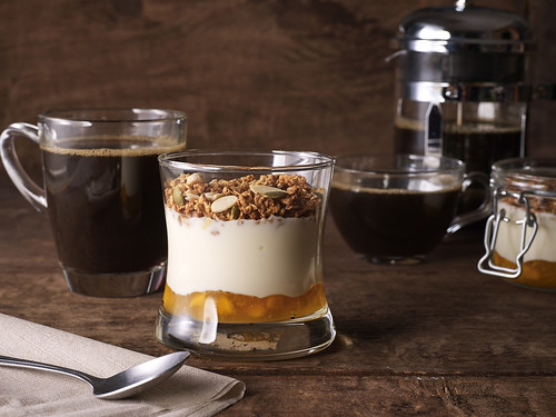 Starbucks Mango Greek Yogurt Parfait