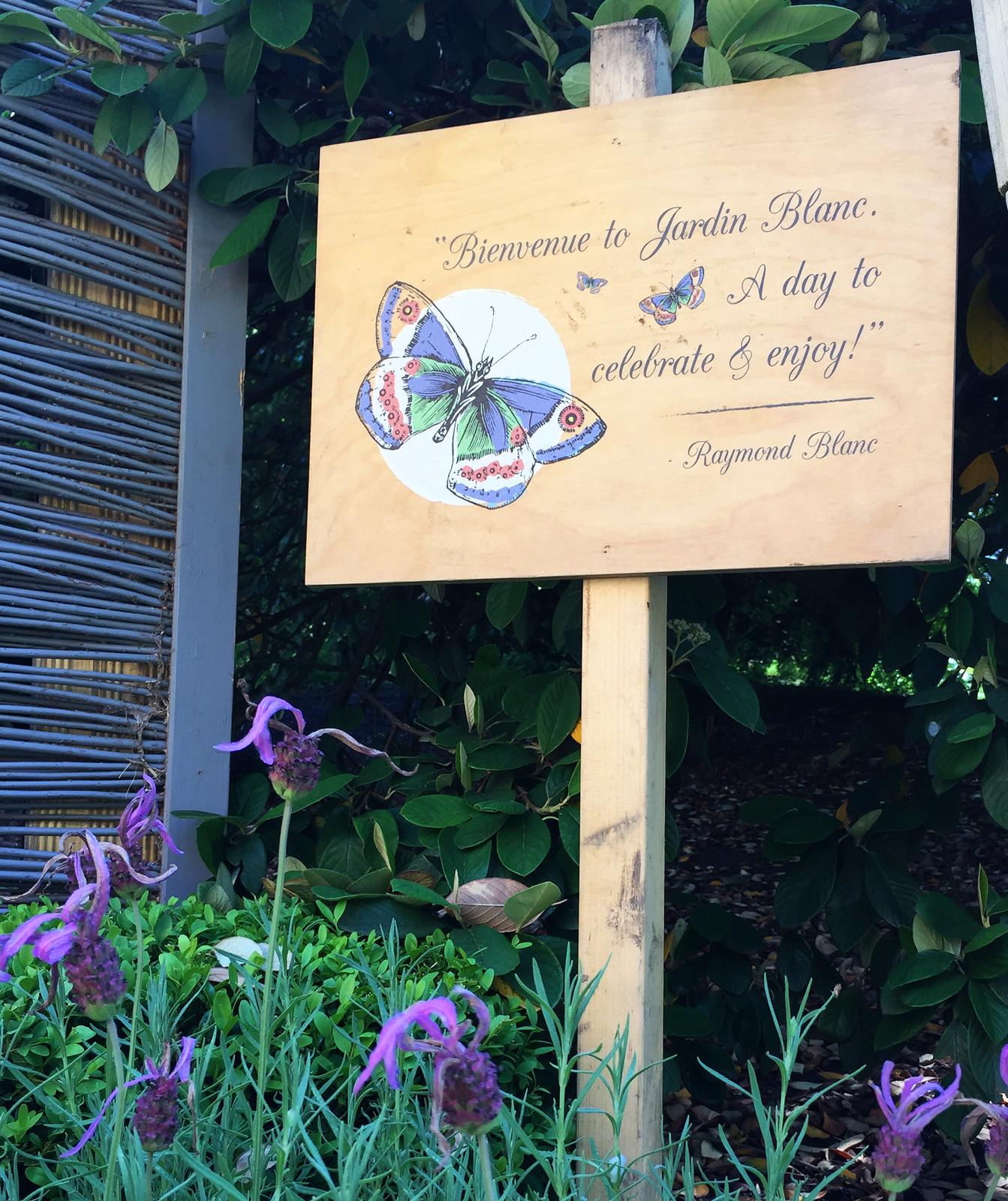 London Chelsea Flower Show Jardin Blanc LadyofStyle Madeleine Fashion