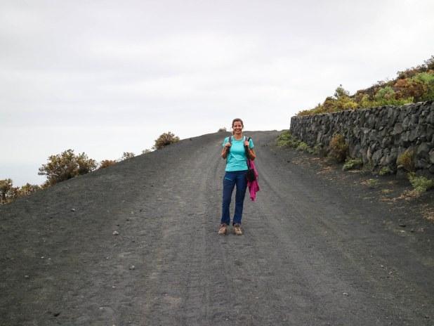 Camino al faro de Fuencaliente