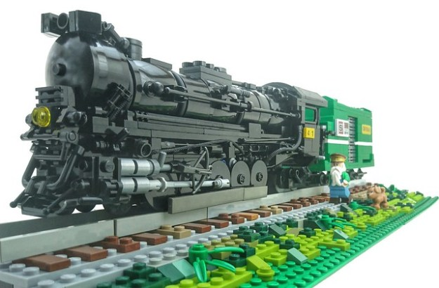 Texas 2-10-4 configuration locomotive