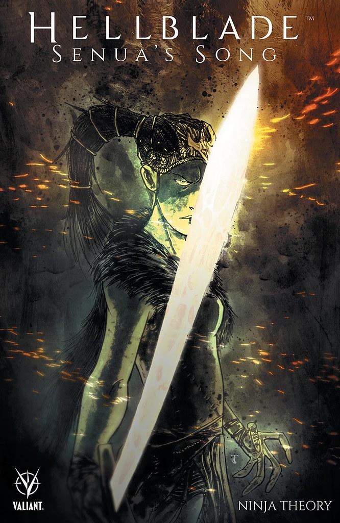 Couverture de bande dessinée de Hellblade Senua