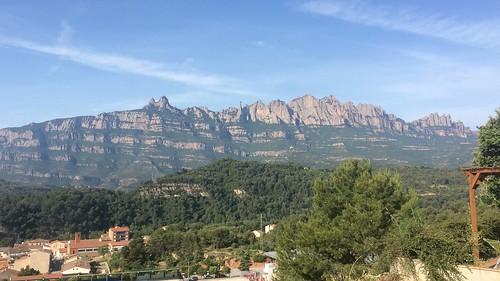 La veduta dal Mas del Puig