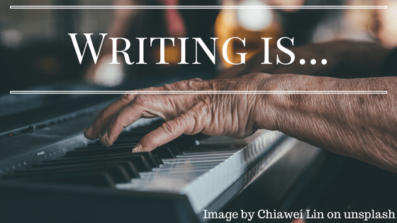 Writing is half art and science (1)