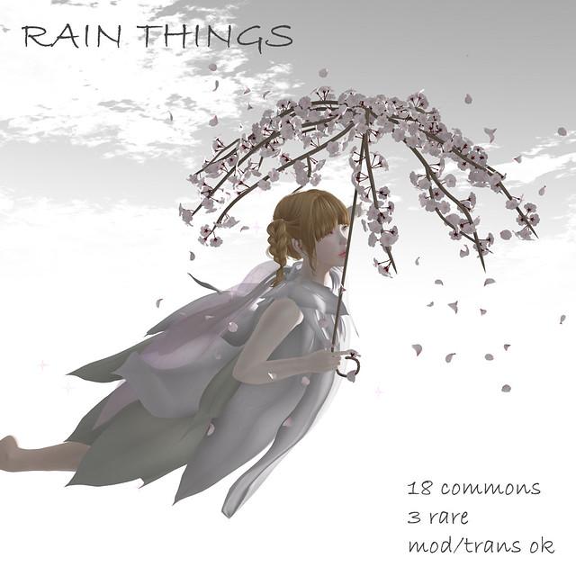 *NAMINOKE*RainThings Gacha