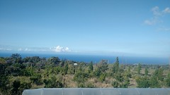 From the lanai