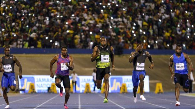 Usain Bolt despedida Jamaica