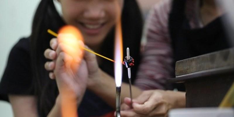 【帶著爺爺去旅行】屏東三地門排灣族琉璃珠:自己燒製玻璃,做祈福的琉璃珠項鍊(12.7ys)