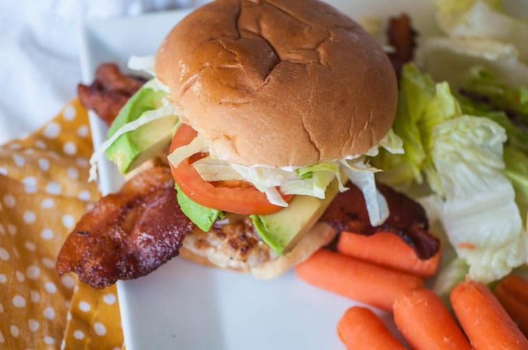 Turkey Club Burgers