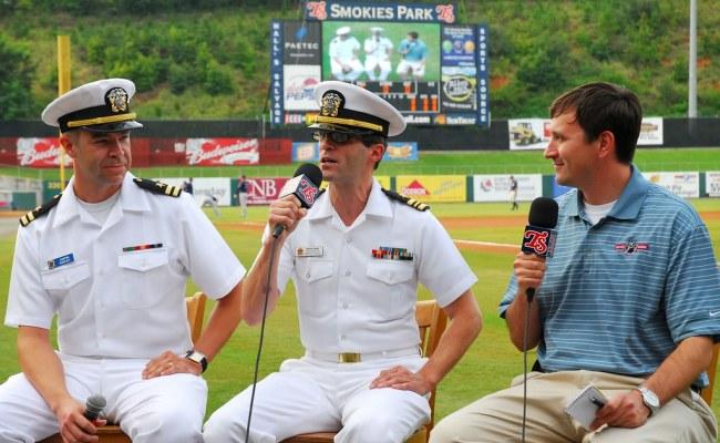 Knoxville Navy Week Tennessee Smokies Baseball Game Flickr