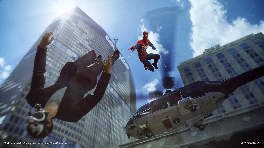 Spider-Man Gameplay