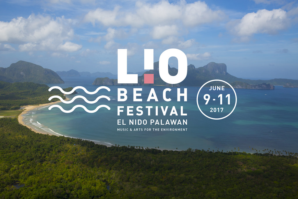 Lio Fest Logo on Coast