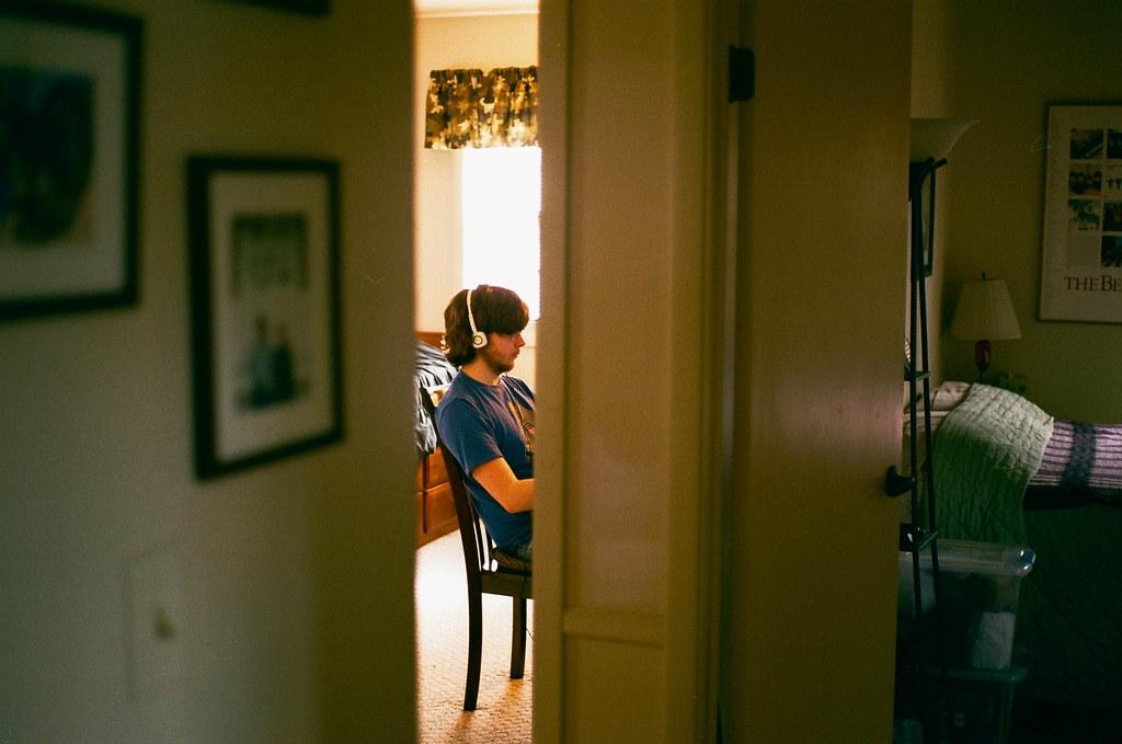 Garrett, down the hall