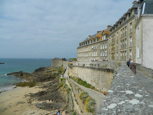 St Malo - Romance of Brittany France Walled City
