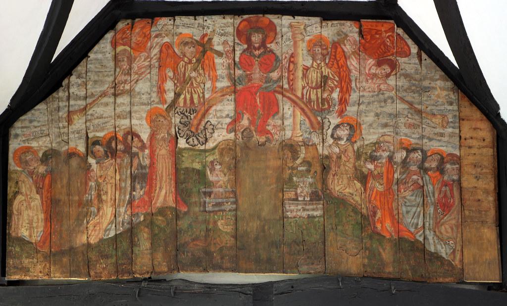 Penn Buckinghamshire  Late medieval doom painting at