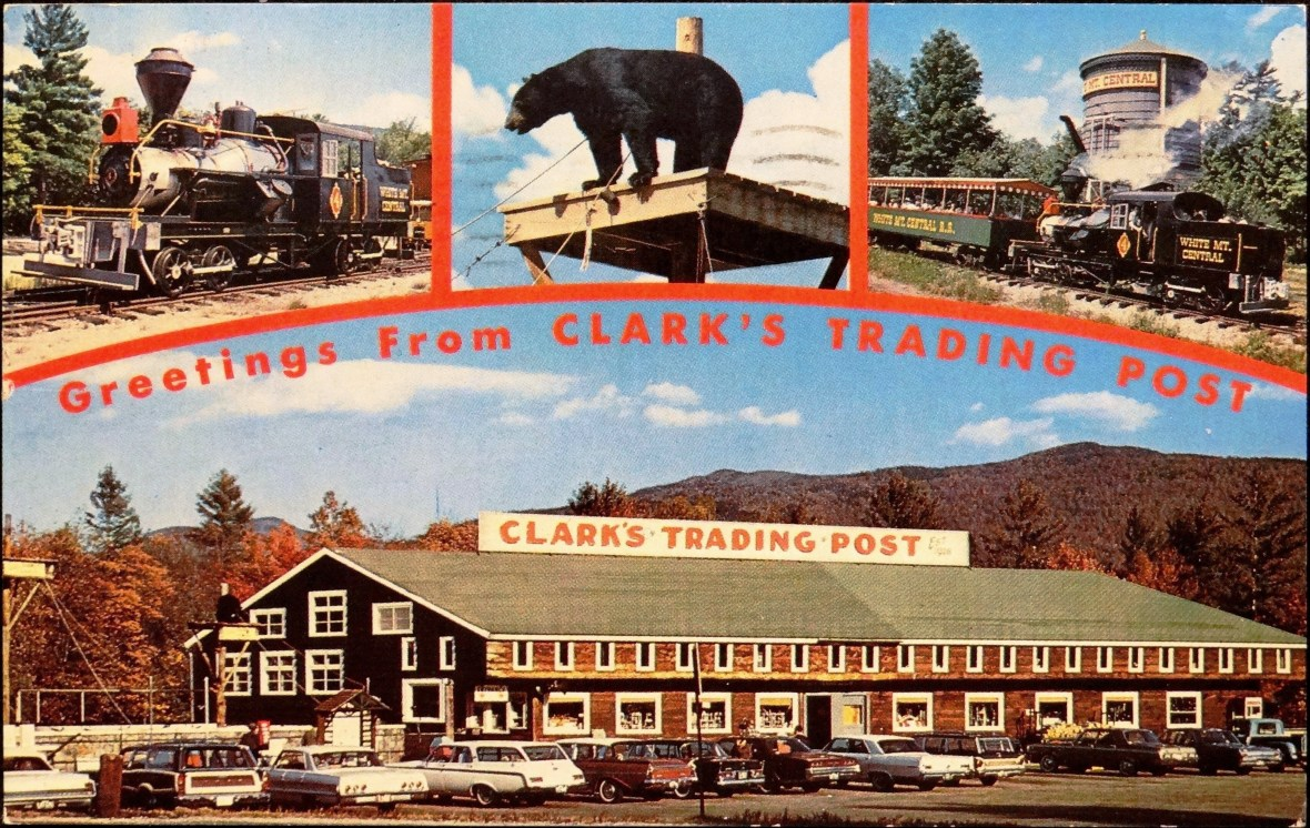 Clark's Trading Post - 110 Daniel Webster Highway, Lincoln, New Hampshire U.S.A. - 1960s